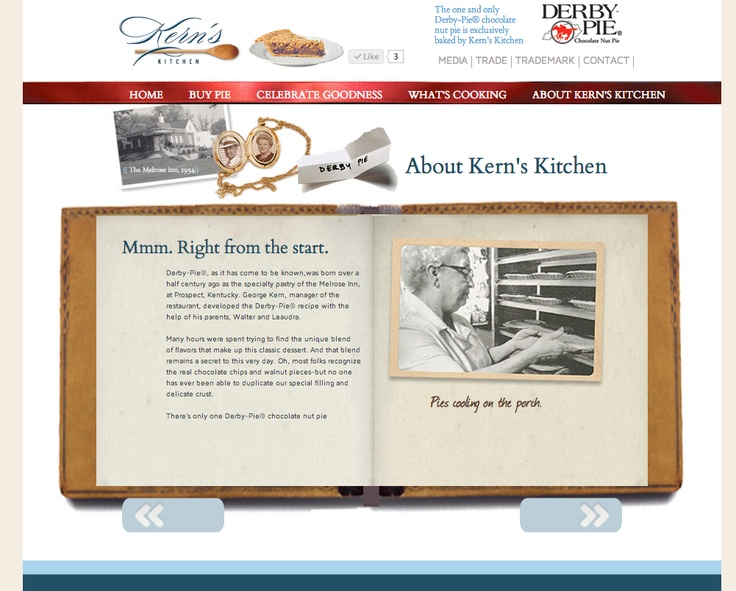 Website for Louisville bakery